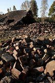 Ruins Of The Crematoria And Gas Chambers, Auschwitz