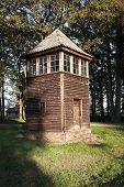 Old Wooden Watch Tower, Auschwitz