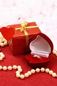 Beautiful Present For St. Valentine Day