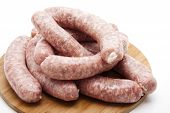 Bratwurst sausage for grilling