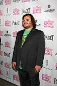 LOS ANGELES - JAN 12:  Jack Black arrives at the 2013 Film Inependent nominees brunch at BOA Steakhouse on January 12, 2013 in West Hollywood, CA