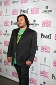 LOS ANGELES - JAN 12:  Jack Black arrives at the 2013 Film Inependent nominees brunch at BOA Steakho