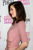 LOS ANGELES - JAN 12:  Mary Elizabeth Winstead arrives at the 2013 Film Inependent nominees brunch a