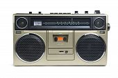 Stylish Bronze Boombox