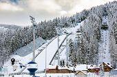 Ski Jump In Zakopane, Poland