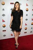 LOS ANGELES - JAN 12:  Bella Heathcote arrives at the 2013 G'Day USA Los Angeles Black Tie Gala at JW Marriott on January 12, 2013 in Los Angeles, CA..