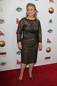 LOS ANGELES - JAN 12: Jacki Weaver at the 2013 G'Day USA Los Angeles Black Tie Gala at JW Marriott on January 12, 2013 in Los Angeles, California