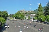 Rosary Square In Lourdes