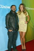 PASADENA, CA - JAN. 7: Brandon Jay McLaren and Serinda Swan arrive at the NBCUniversal 2013 Winter P