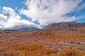 Vulkan und seine Vulkanlandschaft