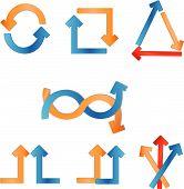 Ilustraciones vectoriales de flecha