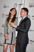 LOS ANGELES - SEP 12:  Jennifer Carpenter, Michael C. Hall at the PaleyFest Fall Previews:  Fall Far