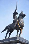 King Taksin monument.