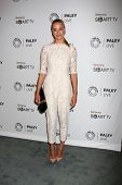 LOS ANGELES - SEP 12:  Yvonne Strahovski at the PaleyFest Fall Previews:  Fall Farwell-