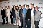 LOS ANGELES - SEP 12:  Dexter Cast at the PaleyFest Fall Previews:  Fall Farwell-