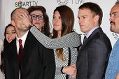 LOS ANGELES - SEP 12:  Desmond Harrington, Jennifer Carpenter, Michael C. Hall, David Zayas at the P