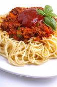 Minced Meat Spaghetti Bolognese poster