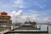 PENANG, MALAYSIA - APRIL 2012 : The Malaysia�¢�?�?s first inner city marina (Tanjong City Marina), Penang Wharf  in Penang, Malaysia on April 18, 2012. It is formerly known as the Church Street Pier.