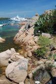 costa rochosa na costa Esmeralda
