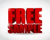 Free Sample Text Illustration Design