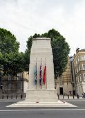 The Cenotaph On Whitehall, London