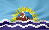 Flag of Santa Cruz - Argentina