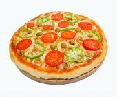 Tomato Pizza With Pepper.