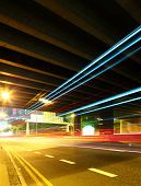 Traffic pass through tunnel