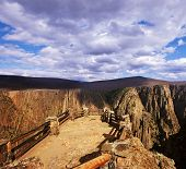 Black Canyon Of The Gunnison National Park in Colorado, USA