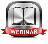 webinar online conference internet web meeting or workshop live video chat