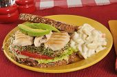 Chicken And Avocado Sandwich
