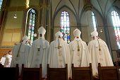 Bishops During Mass