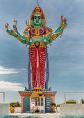 Shrine And Statue Of Goddess Kali.