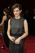 LOS ANGELES - MAR 2:: Emma Watson  at the 86th Annual Academy Awards at Hollywood & Highland Center