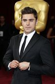 LOS ANGELES - MAR 2:: Zac Efron  at the 86th Annual Academy Awards at Hollywood & Highland Center on