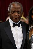 LOS ANGELES - MAR 2:: Sidney Poitier  at the 86th Annual Academy Awards at Hollywood & Highland Cent