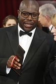 LOS ANGELES - MAR 2:: Steve McQueen  at the 86th Annual Academy Awards at Hollywood & Highland Cente