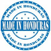Made In Honduras-stamp