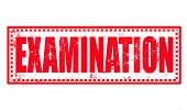 Examination Stamp