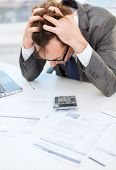 stock photo of fail job  - tax - JPG