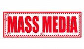Mass Media Stamp