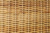 Woven rattan texture background