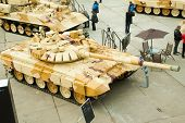 Modernized tank T-72. Russia