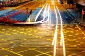 Traffic light on roadway