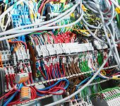Electrical supplies closeup