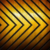 arrows pattern metal background