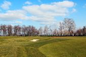 Golf Course In Mezhyhirya, Ukraine