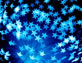 star burst - abstract background, custom bokeh series