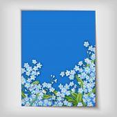 Floral decorative wedding or invitation design