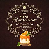 Sweets dessert restaurant menu